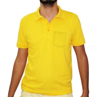 Camisa Polo Com Bolso Algodão Premium