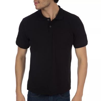 Camisa Polo Sem Bolso Algodão Classic