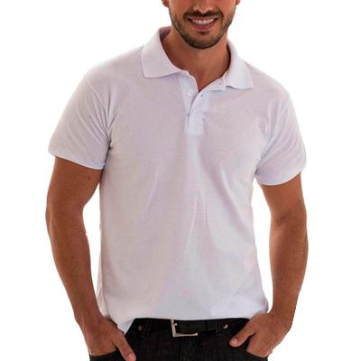 Camisa Polo Sem Bolso Algodão Premium
