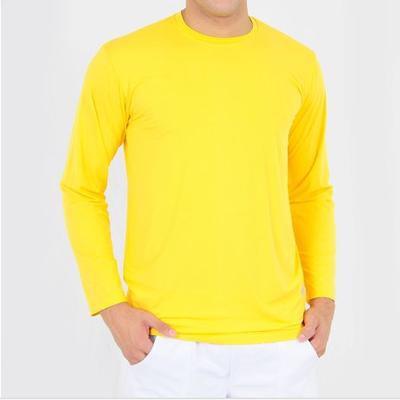 Camiseta Manga Longa Gola Olímpica PV