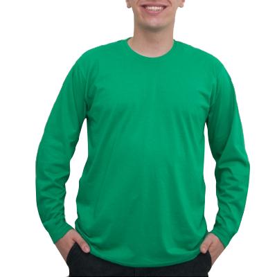 Camiseta Manga Longa Gola Viés PV