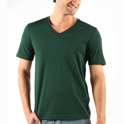 Camiseta Tradicional Gola V Algodão Scápole