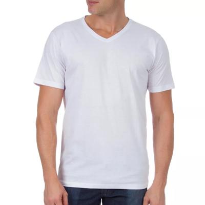 Camiseta Tradicional Gola V Poliéster Dry