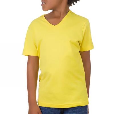 Camiseta Tradicional Gola V Algodão Premium