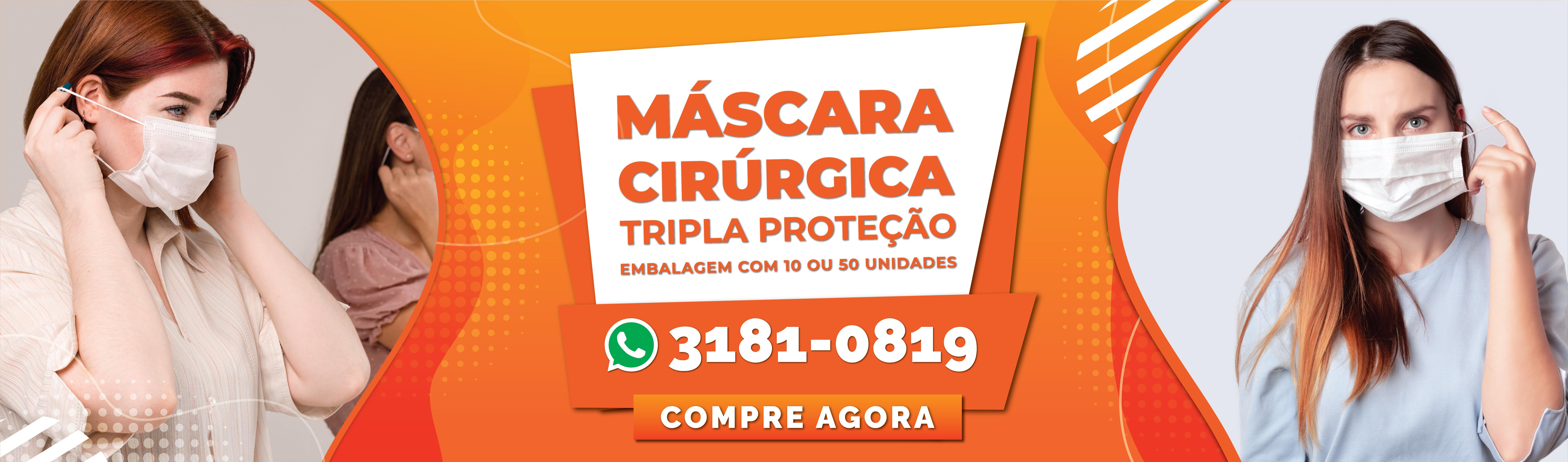 MÁSCARA DE TNT