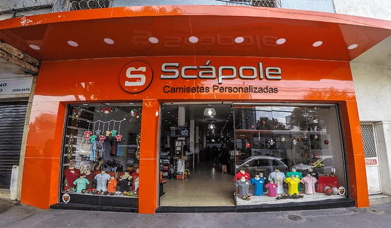 Conheça nossa a loja da Scápole
